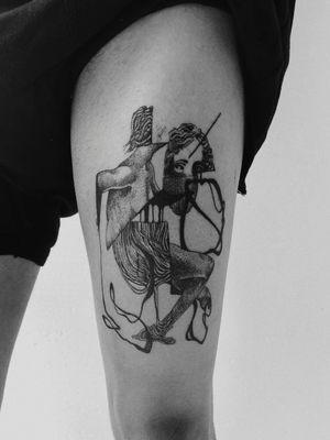 Surrealism #surealism #darksurrealism #tattoo #tattoolovers #tattoooftheday #tattooart #tattooartist #life #death #sculpture #dots #dotwork #lineworktattoo #lines #biahop #bishoprotary #dynamicblack #dynamicink #ink #inklover #thessaloniki #skg #greece