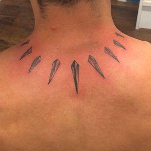 Black panther tat