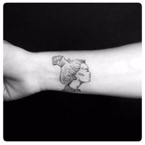 #tattoo #fineline #sketch #doubleexposure linework