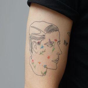 Illustrative tattoo by Jess Chen #JessChen #tattooideas #illustrativetattoos #tattooswithmeaning #meaningfultattoos #tattoocommunity #drawingtattoos