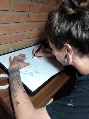 Tatuador Aprendiz.