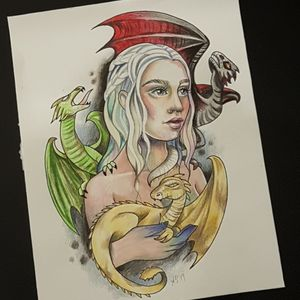 Game of Thrones, Daenerys and dragons