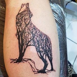 Lobo 🐺 #talainktattoo #tattoocampinas #wolftattoo #tattoolobo