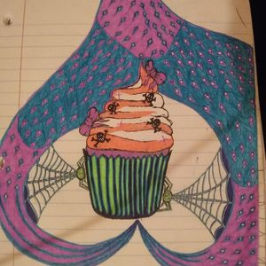 Creepy cakes and spider sides