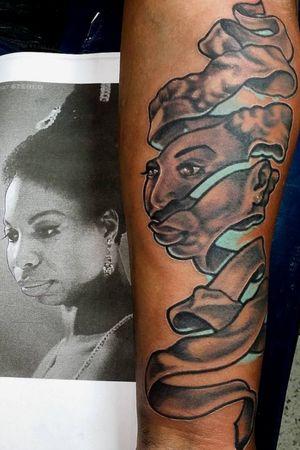 The soul of Nina Simone done on Venus