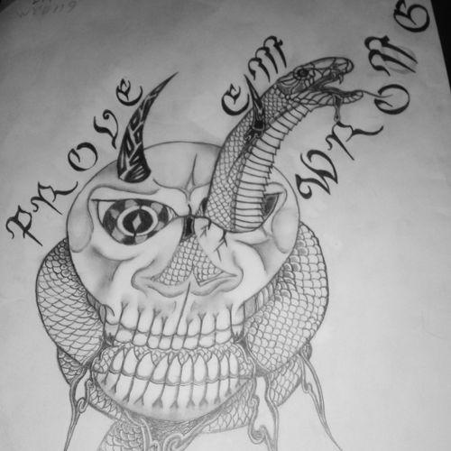 White momba skull prove em wrong!