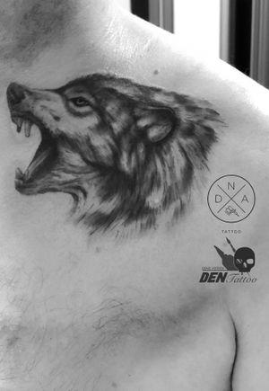 #wolf #wolftattoo #gdansktattoo