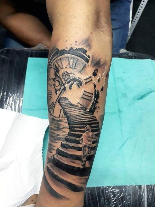 #tattoo #blackandgrey #blackandgraytattoo