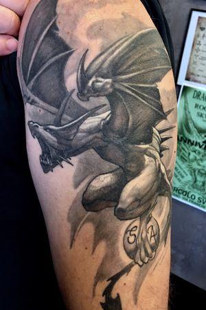 Illustrative fantasy dragon