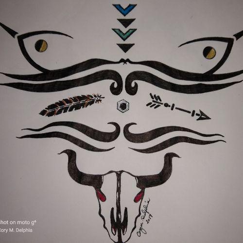 Tribal Western design