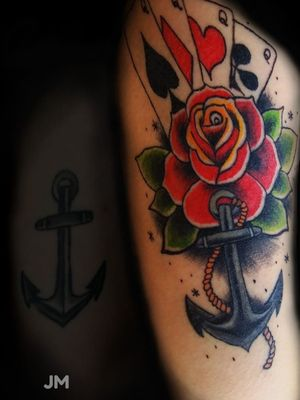 Cover up in trad style