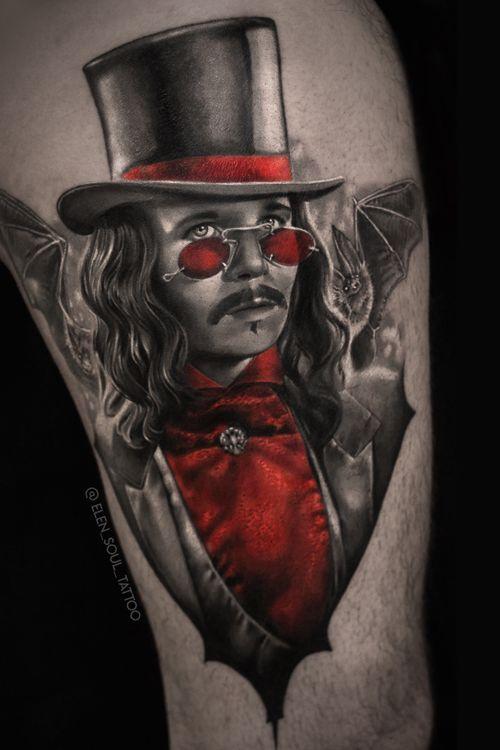 #elensoul #dark #dracula #garryoldman #red #blood #blackandgray #horror #gothic