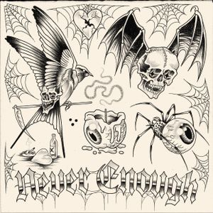 NEVER ENOUGH/ new designs available. Booking: mikeend666@gmail.com or DM/ #tattoo #finelinetattoo #fineline #flashtattoo #tattooflash #flash #blackwork #blackworktattoo #skulltattoo #skull #swallowtattoo #swallow #reapertattoo #reaper #spidertattoo #eye #eyetattoo #candle #heart #stilllife  #lettering #typography #tribal #paris