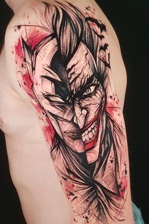 #JokerTattoos #Joker #batmanjoker #batman #dc #dccomics