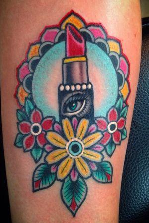Traditonal makeup tattoo