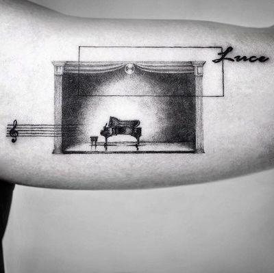 #kyo #kyotattoo #surrealism #realism #music #musictattoo #stage #piano #microtattoo #tattooberlin #tattooartmag #tattodo #tattooideas #tattooinspiration #europetattoo #berlintattoo #hamburgtattoo #berlinink #tattooartist #tatt #ttt #ttism #tattooing #creativetattoo #dotworktattoos #sketchtattoos #blackink #tattoos #berlin #designtattoo #design