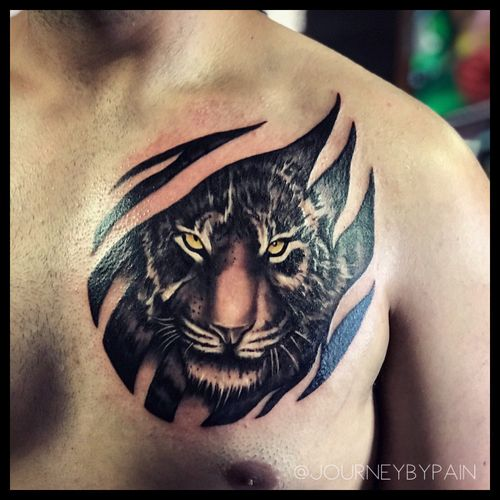 A black and grey tiger for my man :) really enjoyed this tattoo #miamitattoo #miamitattoos #miamitattooparlor #miamitattooartist #miamibeachtattoos #miamiink #miamiartist #tattooshop #tattooideas #tattoostudio #tattooartist #tattoo #tattoos #inked #tattooart #inkstagram #tattooart #floridatattooartist #tattoodesigns #southflorida #neotrad #neotraditional #southfloridatattoo #southfloridatattooartist #hollywoodtattooartist