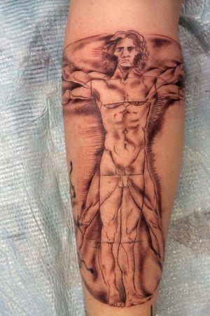 Leonardo DaVinci Vitruvian Man