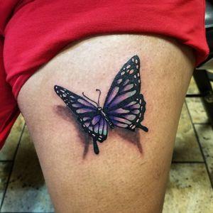 #butterflytattoo #tattoos #colortattoos #bishoptattoomachine #eternalink #bugpin #tattoocartridge #tattoomag #tattooliner #tattooartist #tattooart #aztattooartist #tattoolifer #phillytattooartist