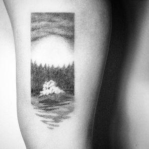 #Kyo #Kyotattoo #Tattoodo #Tattoodoapp #Cloud #CloudtTattoo #Blackandgrey #Fineline #Micro #Creative #Dotwork #Sketchtattoos #Delicate