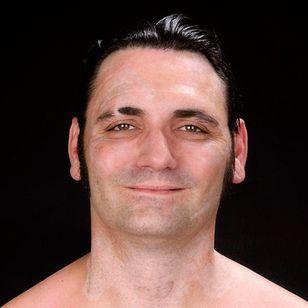 The real Bryon Widner #BryonWidner #ExNeoNazi #tattooremoval #transformation #Skin #Skinmovie #movie #GuyNattiv #JamieBell