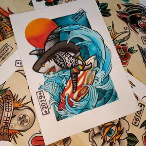 #nordeste #namps_tattoo #tradilatino #nordestino #praiasdonordeste #traditionalpainting #boaviagem #beach #praia #pernambuco #recife #tatuagem #recife #traditionalkings #traditionalboldline #bright_and_bold #vintage navy #oldschool #tatovering #tatowieerun #tatouage #shark #sharkattack #skinart #tatovering #sereia #beach #praia #traditionaltattoo #traditional #rawtrad #oldworkers