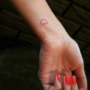 First tattoos - first love. ▪ #тату #сердце #trigram #tattoo #heart #inkedsense #tattooist #кольщик