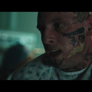 Jamie Bell as Bryon Widner in Skin #Skin #Skinmovie #NeoNazi #tattooremoval #transformation #tattoomovie #BryonWidner #JamieBell #GuyNattiv