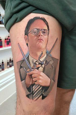Rainn Wilson aka Dwight from the office