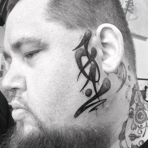 101 'fat cap' style graffiti. On the superstar singer Rag n' Bone Man.