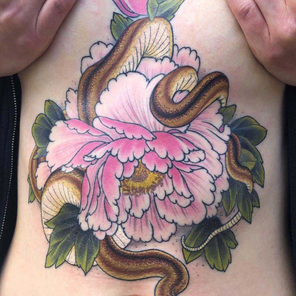 Tattoo by Antony Flemming #AntonyFlemming
