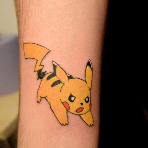 #pikachutattoo #tattoos #ink #beginnertattooartist #gangsta #learning #daretochange #daretobedifferent #learningtotattoo #tattoolifestyle #tattooing #myinkprints2019
