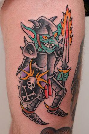 Tattoo from Dan Moreno