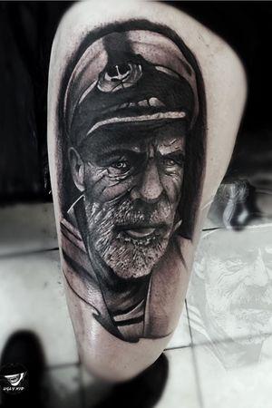 #blackandgray #blackandgreytattoo #sailor #tattooart #whipshading #whipshaded #tat #TA2BODY