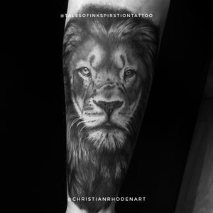 Finished up lion cover up on Amy a few months back