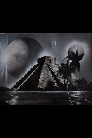 #mayan #temple #mayantattoo