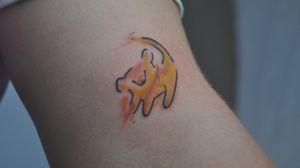Tattoo #disneytattoo #disney #simbatattoo  @kath.tattoo