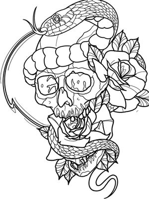 Another available design! So if anyone is interested and wants to throw down a deposit. Will get an awesome deal on the piece! Ideal piece for a thigh or upper arm. Message me and let's get this on skin! . . . . #procreate#digitalart#tattoo#tattooidea#neotrad#neotraditional#outlinedrawing#aotd#instalike#instaartist#instatattoo#instatattoo#instalike