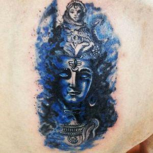 Shiva tattoo #tattooartist #tattooart #shivatattoo #art