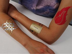 DuoInk temporary tattoos #smarttattoo #tattootech #tattootechnology #biowearables #temporarytattoo #techtattoo #technology