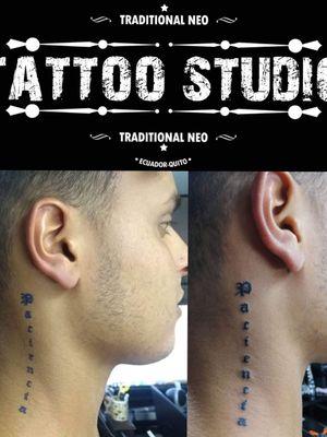 Tattoo #frase #negro