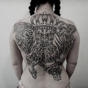 Back tattoo by Gery #Gery #Motorink #MotoinkFinestTattooing #Amsterdam #Amsterdamtattoo #Amsterdamtattoostudio #tattoostudio #tattooartists #tattooidea #besttattoo #cooltattoo #back #blackwork