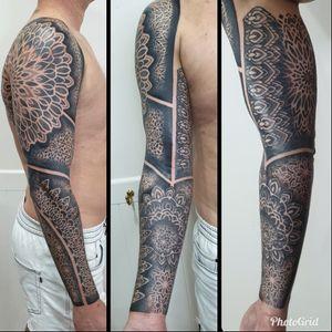 Swirlywanxsinatra@gmail.com #tattoo #blackandgrey #mandala #dotwork #oakandirontattoo #brisbane #brisbanetattoo #blackworktattoo #blackwork #geometrictattoo #geometric #sydneytattoo #sydney #australiantattoo #ritalinpower #brisbaneartist #btattooing #brisbanetattooartist Swirlywanxsinatra@gmail.com