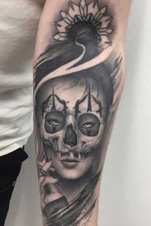 Healed tattoo done by our artist Andrew Steven