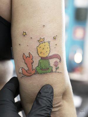 Pequeno Príncipe #LePetitPrince #pequenoprincipe #tatuagenscoloridas