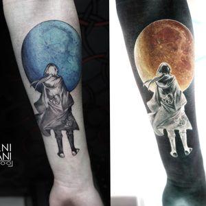 Negative tattoo