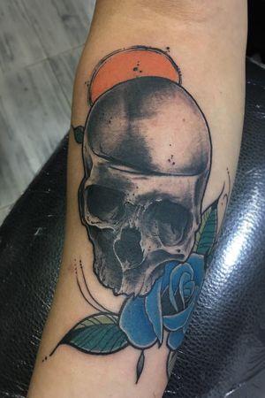 #neotraditional #skull #tattoo #desing #neotradi #illustrations