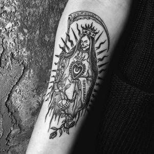 Santa Muerte 🥀 ➕➕➕➕➕➕➕➕➕➕➕➕➕➕➕➕➕➕➕➕➕➕➕➕➕➕➕➕➕➕➕➕ #santamuerte #bruja #dayofthedead #momentomori #death #blackwork #dotwork #woodcut #linework #illustration #occult #art #linework #woodcuttattoo #tattoo #alchemy #doom #witchcraft #heathen #darkart #NYC