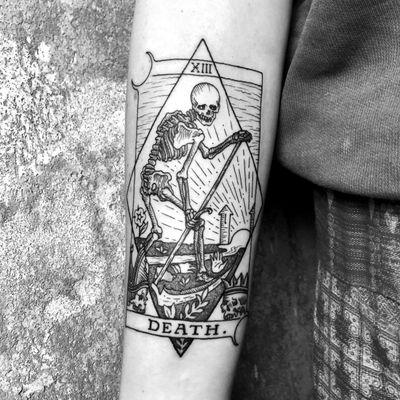 Death & Rebirth🗡 #tarot ➕➕➕➕➕➕➕➕➕➕➕➕➕➕➕➕➕➕➕➕➕➕➕➕➕➕➕➕➕➕➕➕ #death #deathcard #blackwork #medieval #woodcut #linework #illustration #occult #art #linework #woodcuttattoo #gothic #tarottattoo #tattoo #alchemy #magick #doom #witchcraft #heathen #pagan #NYC #tarotcard