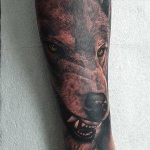 Big bad wolf I did the other day #tattoo #tattoos #tattooist #tattooartist #blackandgrey #blackandgreytattoo #realistictattoo #realismtattoo #blackandgrey #blackandgreytattoo #realistictattoo #realismtattoo #portrait #animal #animaltattoo #realism #wolf #wolftattoo #wolves #point2point #tattoostudio #erith #kent #southlondon #startattooist